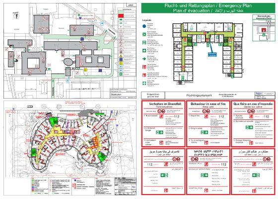 Brandschutz – Feuerwehr Objektplan komplett