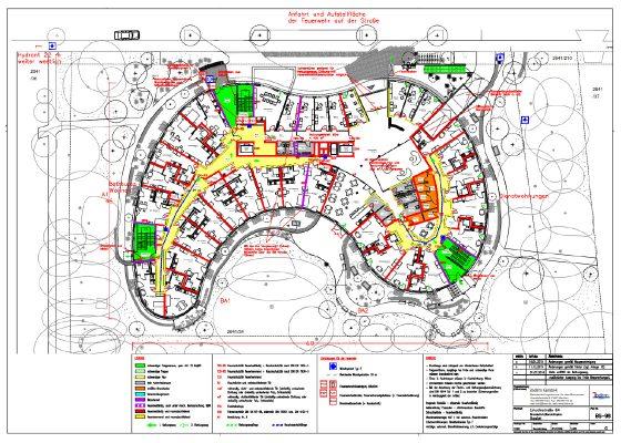 Brandschutz – Brandschutzplan Seniorenheim