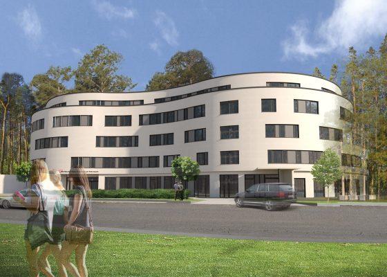 Föhrenpark Pflegeheim München –Visualisierung Architekt