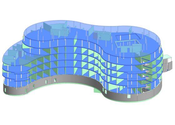 Föhrenpark Pflegeheim München –REVIT Modell