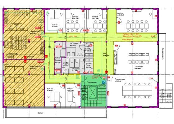 Anderwerk GmbH –Plan vorbeugender Brandschutz mit Werkstatt