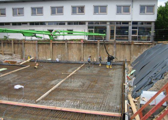 Anderwerk GmbH –Betonierung Bodenplatte