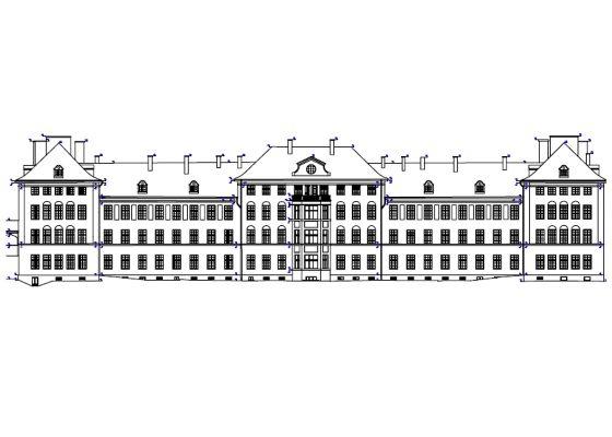 Klinikum Schwabing, München – Historische Ansichtsdarstellung