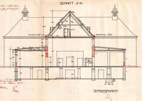 Klinikum Schwabing Haus 27 – Historischer Querschnitt Haupttrakt