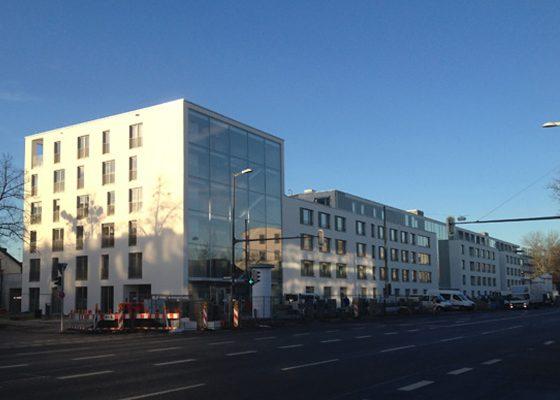 Kompetenzzentrum Landsberger Straße, München – Visualisierung Architekt