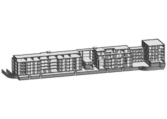 Kompetenzzentrum Landsberger Straße, München – 3D Modell