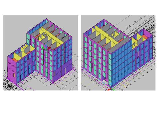Kompetenzzentrum Landsberger Straße, München – Energieberatung anhand 3D-Modelierung  des Nichtwohngebäudes