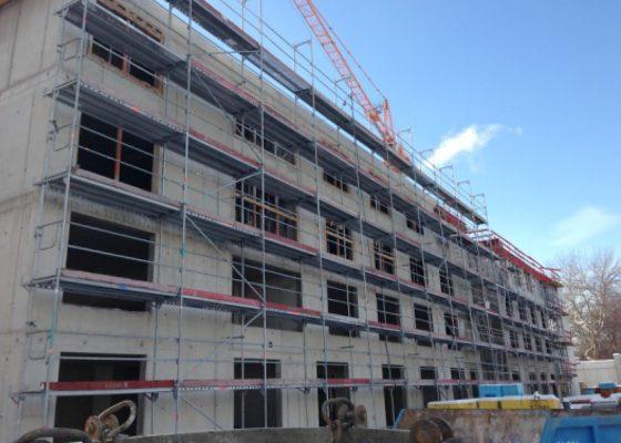 Kompetenzzentrum Landsberger Straße, München – Tragende Fassadenwände