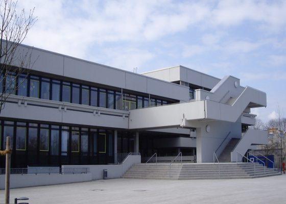 Quiddestraße Schulzentrum – Ansicht nach der Sanierung