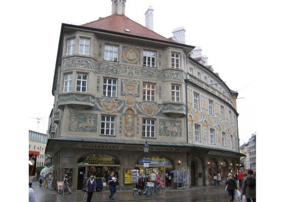 Ruffiniblock, Sendlinger Straße 1, München – Fassade Ostseite