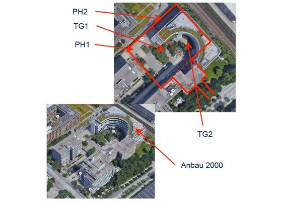 Elsenheimerstrasse Tiefgaragen – Luftbilder