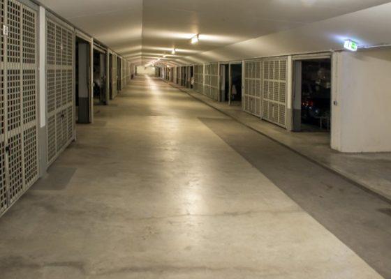 Grellstrasse Tiefgarage – Tiefgarage nach der Sanierung