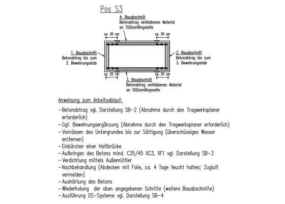 Martinsried Tiefgarage – Auszüge aus Ausführungsplanung