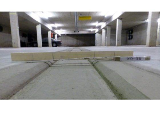 Zorneding Tiefgarage – Ausformung neue Rinne