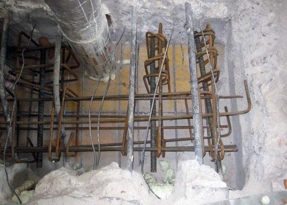 TUM Stammgebäude – Optimierung bei Tragwerkseingriffen – Erhalt der Bestandsbewehrung Deckenintegrierter Wechsel