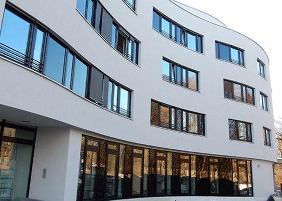 Neubau Pflegeheim, Föhrenpark München –Fassade