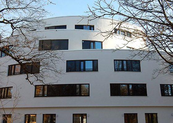 Neubau Pflegeheim, Föhrenpark München – Fassade