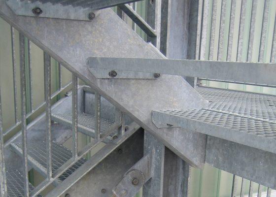 Anderwerk GmbH – Detail Fluchttreppe
