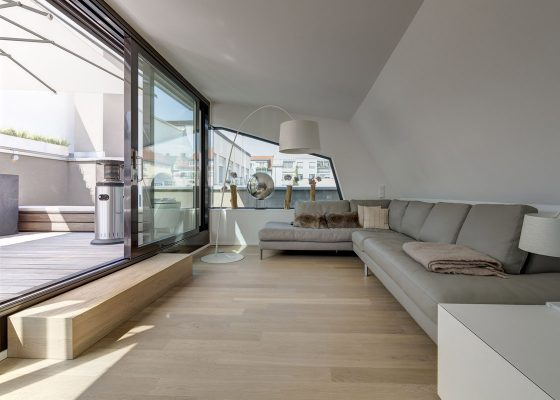 Augustenstraße –Wohngebäude Penthouse